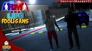 chaos in jail a3l fooligans ep8 arma 3 life funny random moments