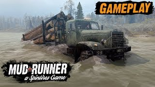 Spintires: MudRunner GAMEPLAY