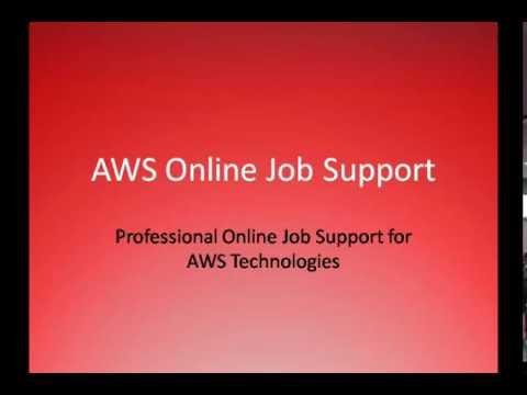 AWS Online Job Support