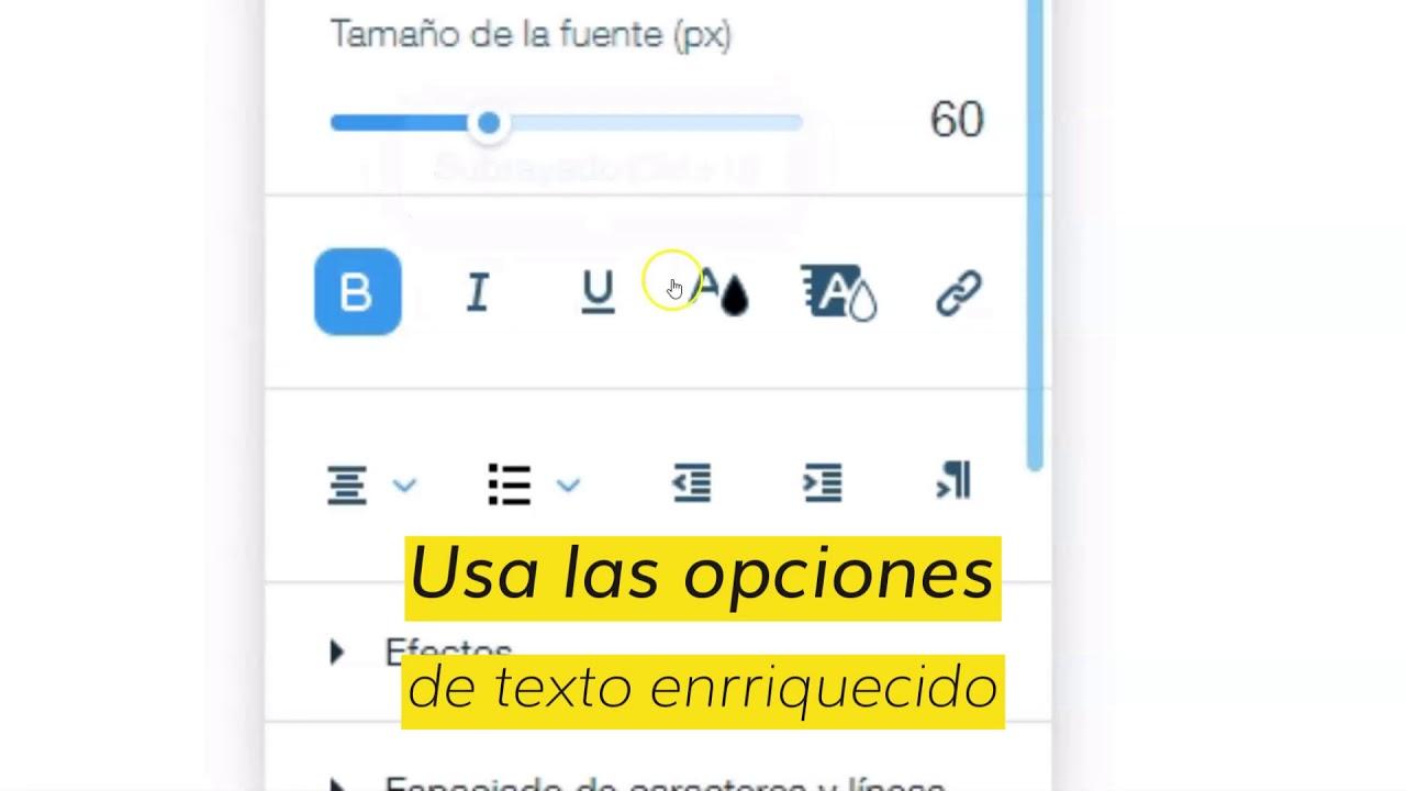 MD°Maker | Cómo editar texto en Wix