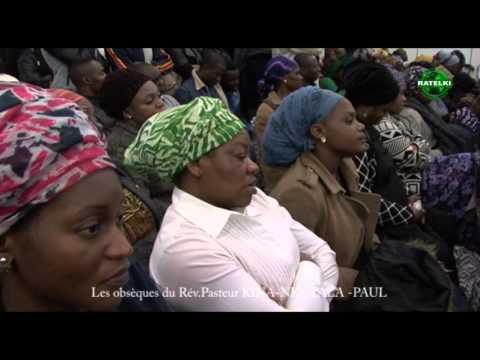 Les obsèques du Rév.Pasteur KINA-KUNTALA-PAUL