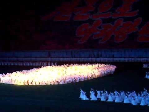 "Arirang Mass Games ""3"" - Pyongyang - 25/09/2010"