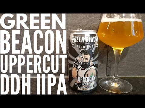 Green Beacon Uppercut DDH IIPA By Green Beacon Brewing Company | Australian Craft Beer Review