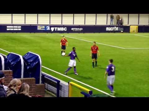 Hyde United v Morecambe FA Youth Cup 4th November 2016