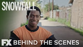 Snowfall | Inside Season 1: Damson Idris as Franklin Saint | FX