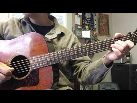 Wildwood Flower: picking melody from a C chord