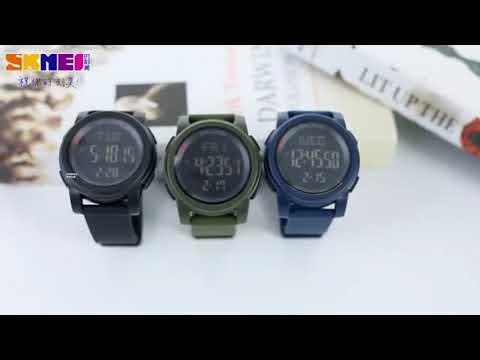 93c97d1a2b9e Reloj Skmei 1257 Deportivo y Militar Sumergible 50 M!!