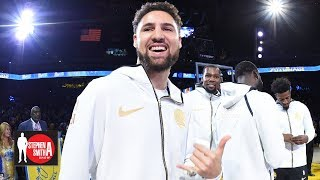 The Warriors risk losing Klay if they don't offer him a max deal – Woj | Stephen A. Smith Show