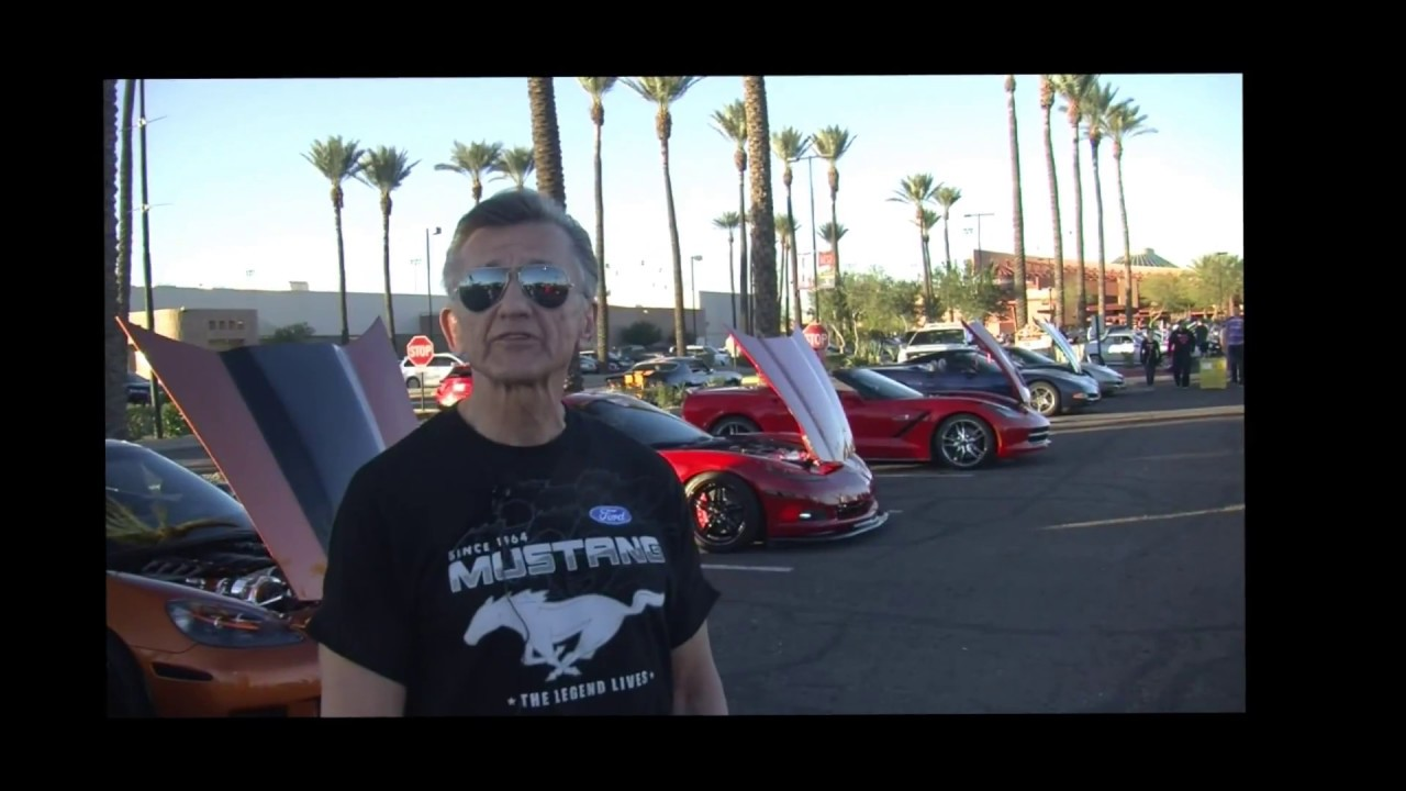 Rock Roll Car Show With Docs Boost Checking Out Cars And Talking - Car show t shirt design ideas