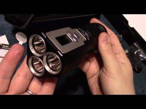 Fenix TK72R Flashlight Kit Review With Night Shots!