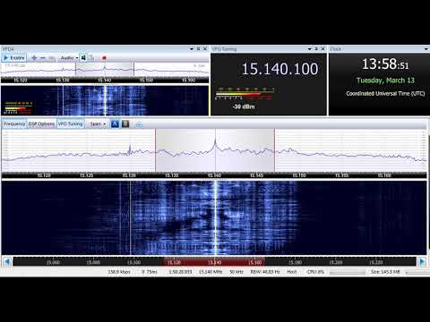 13 03 2018 Radio Sultanate of Oman in English to WeEu 1357 on 15140 Thumrayt