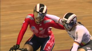 Women's Sprint Gold Final Race 2 - Kristina Vogel vs Wai Sze Lee