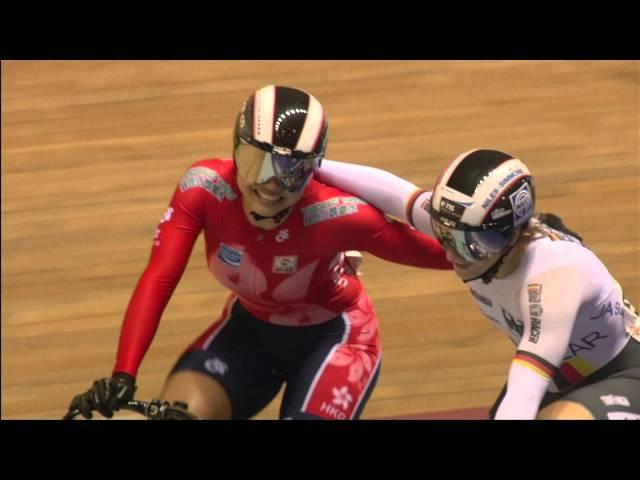 Womens Sprint Gold Final Race 2 - Kristina Vogel vs Wai Sze Lee
