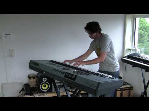 Lady Antebellum - Need you now - piano (motif XS8)