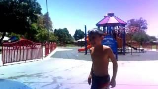 Splash Pad At Sunshine Park In La Puente Video