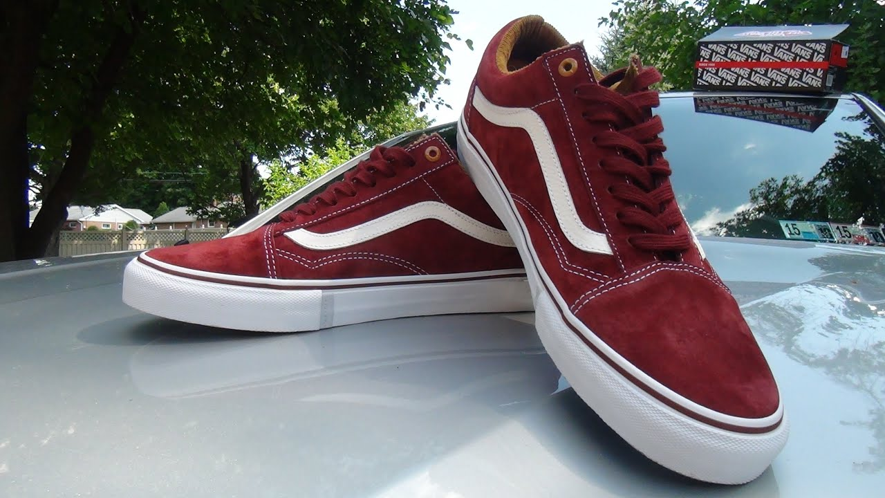 old skool vans marron