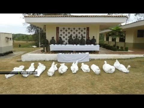 Ejército y Fuerza Aérea neutralizaron 10 integrantes del ELN