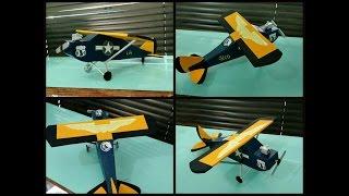 Faça você aero modelos de papelão com rogatty