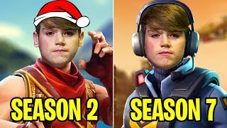 🇬🇧🔥Mongraal SEASON 2 vs SEASON 7 | Evolution Of Mongraal