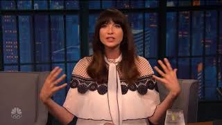 Outlander | Interviews ~ Caitriona Balfe on Late Night with Seth Meyers