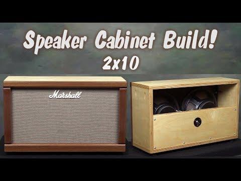 2x10 Guitar Speaker Cabinet Build from a Marshall JTM 30