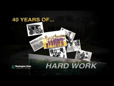 Washington State Community College 40th Anniversary