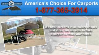 Altavista Metal Carport Kits | Virginia Carports Factory Direct