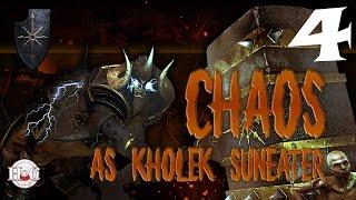 Total War Warhammer - Chaos Warriors - Kholek - Campaign 4