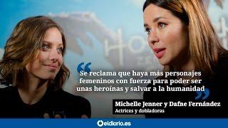Michelle Jenner y Dafne Fernández nos hablan de doblaje y personajes femeninos en los videojuegos