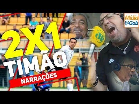 Corinthians 2 x 1 São Paulo - NARRAÇÕES de rádio | e o VAMPETA? É de ARREPIAR!