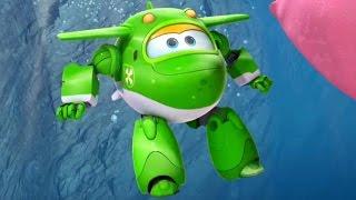 Супер Крылья: Джетт и его друзья - 17 серия - Мультик про самолеты трансформеры на русском