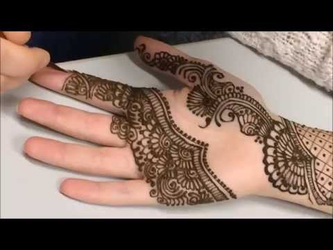Bellas Mehndi Berlin - Full arm bridal design (design inspired by Ash Kumar)
