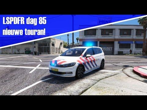 GTA 5 lspdfr dag 85 - Nieuwe touran! Aanhouding nep agent met vuurwapen!