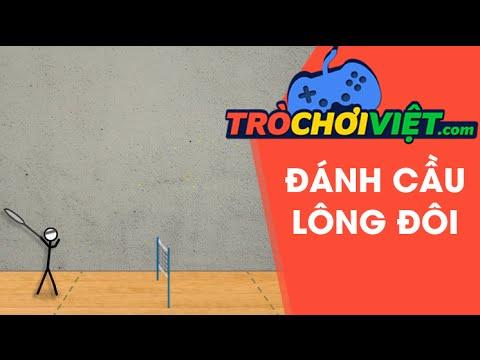 Game đánh cầu lông đôi – Video hướng dẫn cách chơi game