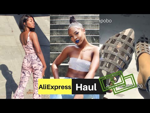 ALIEXPRESS CLOTHING TRY ON HAUL 2018 | MissErinYvette