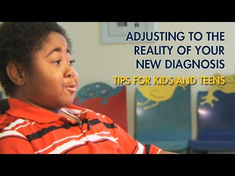 Adjusting to the reality of your diagnosis - Kids4Kids videos from Mott Children's Hospital