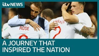 Pride of lions: How England's World Cup journey lifted a nation  | ITV News