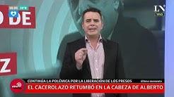 El cacerolazo retumbó en la cabeza de Alberto Fernández