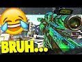 THE WORST TRICKSHOTTER EVER...LMAO 😂(Call of Duty Sniping & Funny Moments)