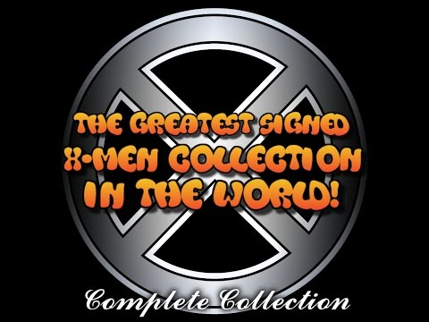 The Greatest X-Men Comic Book Collection In The World - Complete Collection Over 600 Signings
