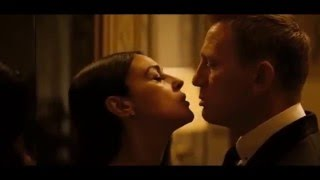 James Bond Kiss! (Spectre 2015)