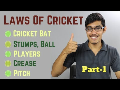 What are the Official Rules of Cricket, Law-1 to Law-12 EXPLAINED | SportShala | Hindi