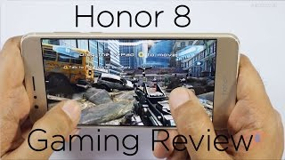Huawei Honor 8 Smartphone Gaming Review