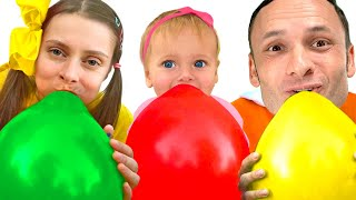 Balloon - Song for Kids with Maya and Mary
