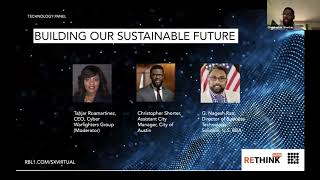 ReThink Austin 2020 - Building A Sustainable Future (Technology Panel)