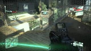 Crysis 2 Multiplayer Gameplay - 24-1 Epic Kills - CEPH GUNSHIP - PC HD w/ Commentary