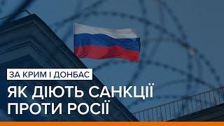 За Крим і Донбас. Як діють санкції проти Росії | Ваша Свобода