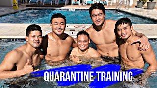 Quarantine Training - Ono, Abe, Maruyama, Takato, Nakaya[トレーニング 日本 柔道] Тренировки Японии по Дзюдо
