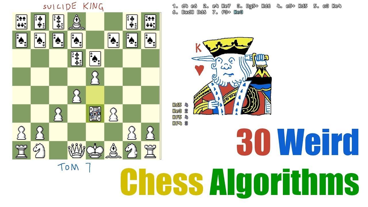 30 Weird Chess Algorithms: Elo World