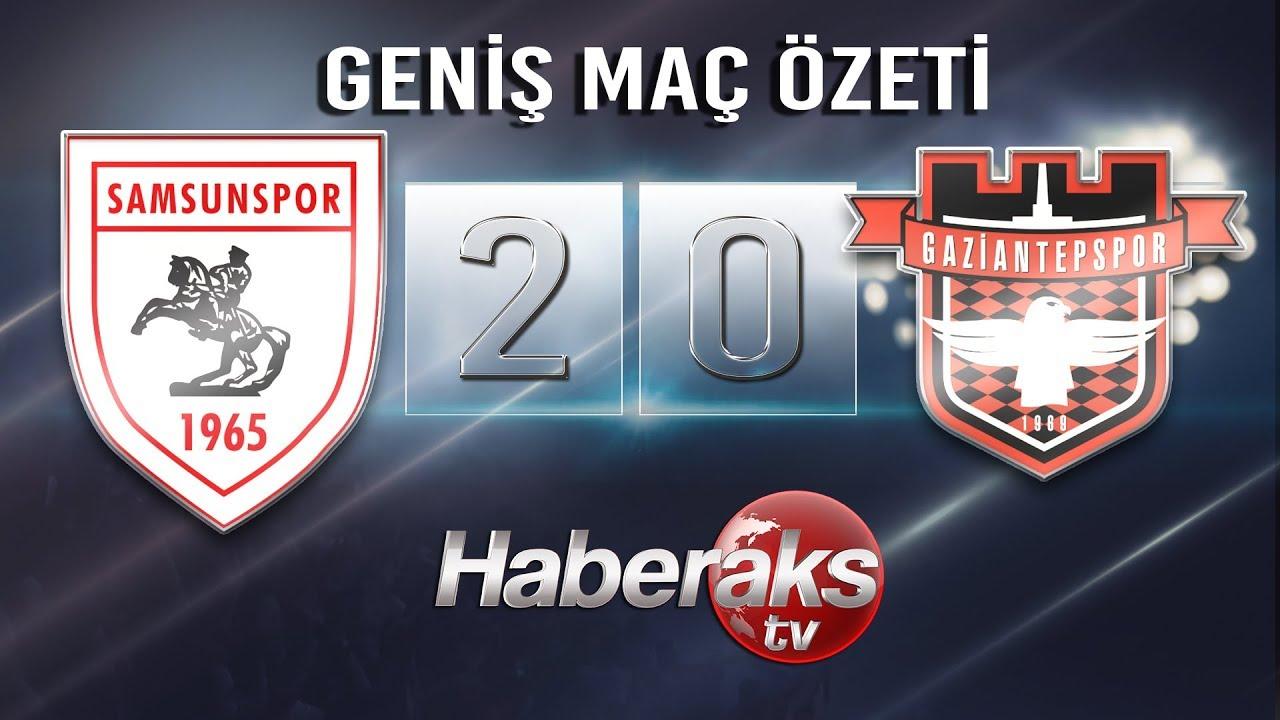Samsunspor - Gaziantepspor / GENİŞ MAÇ ÖZETİ (13 Ekim 2018)